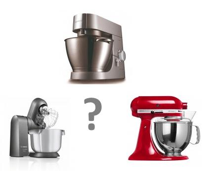 Bosch of Kenwood Keukenmachine - welke is de verstandige keuze?
