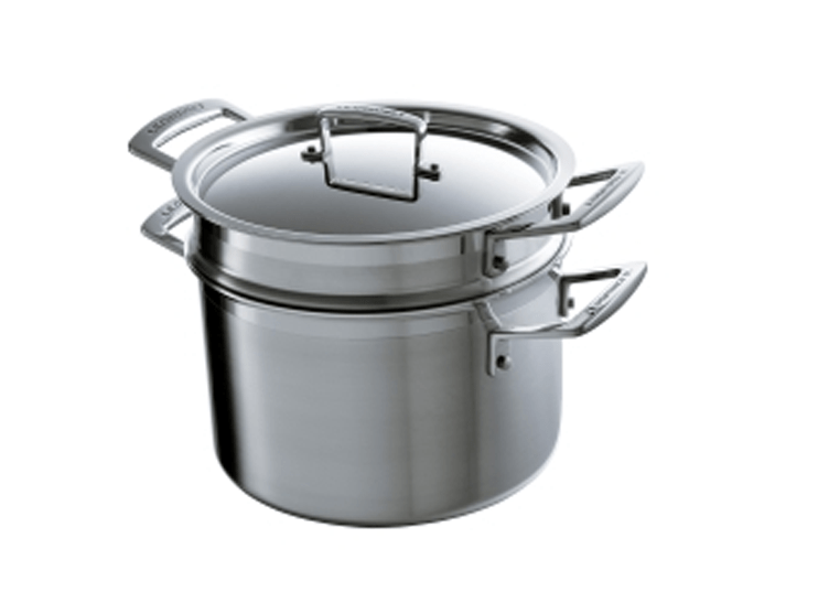 Pastapan voor eenvoudig koken van pasta