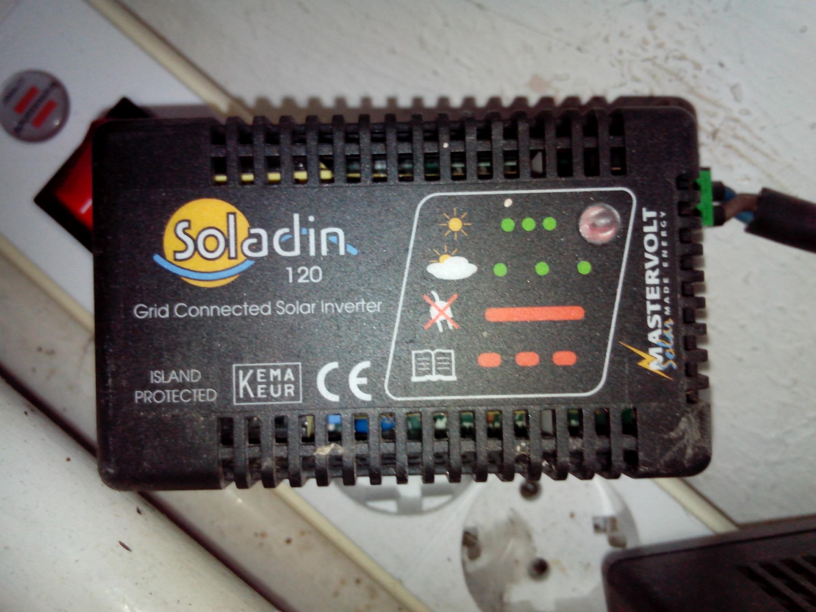 Soladin 120 mastervolt omvormer voor zonnepanelen : Plezier in de ...