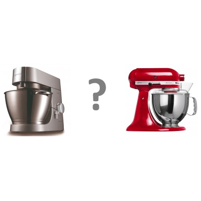 Kitchenaid of Kenwood keukenmachine?