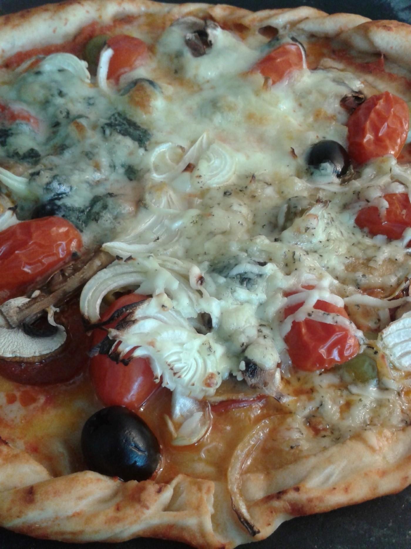 Pizza maken met een keukenmachine – Recept voor zelfgemaakte pizza
