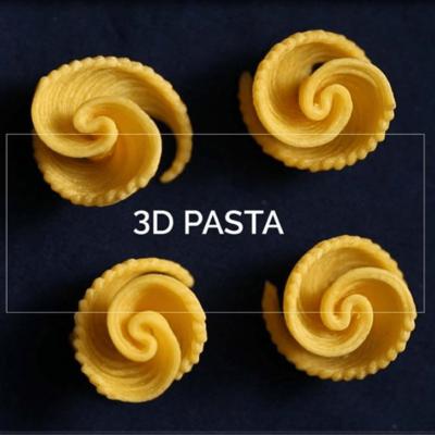 Wereldprimeur 3D pastaprinter Barilla en TNO op EXPO2015