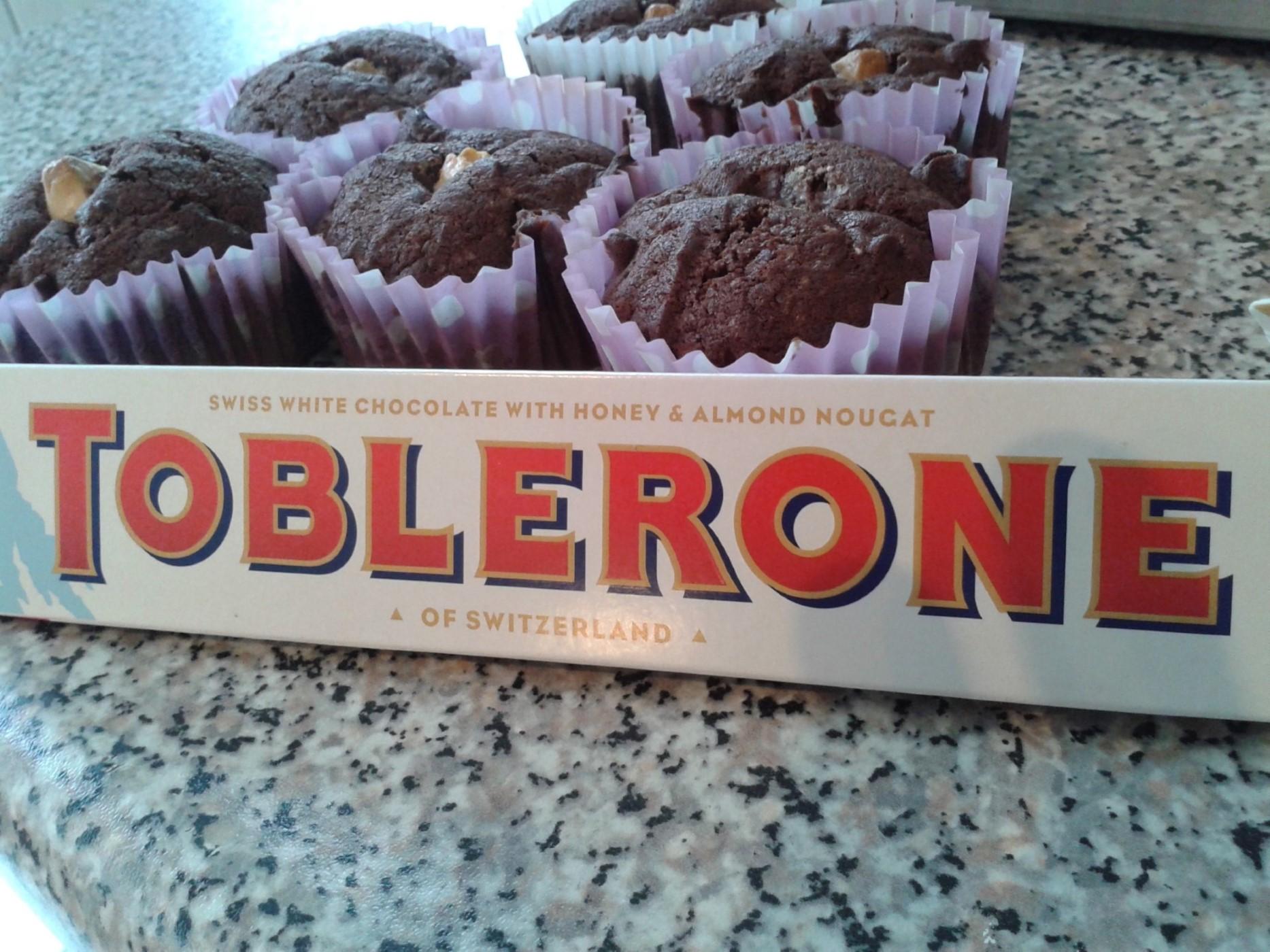 Cupcakes met Toblerone – recept