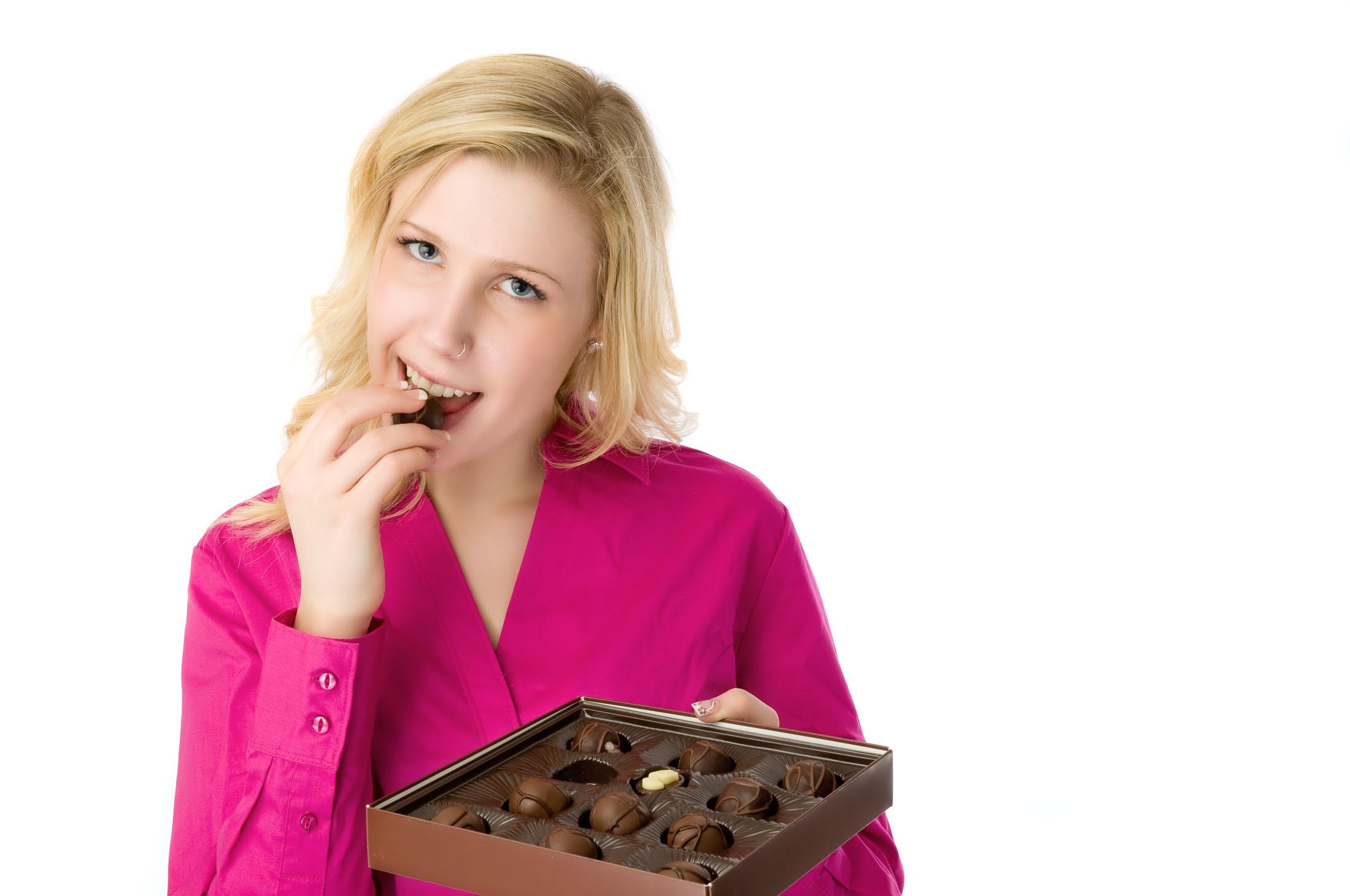Emotie eten in een positief daglicht