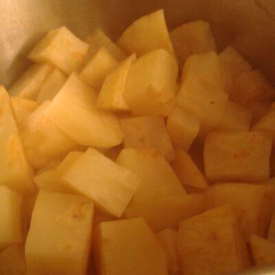 Knolselderij recept voor puree en soep6