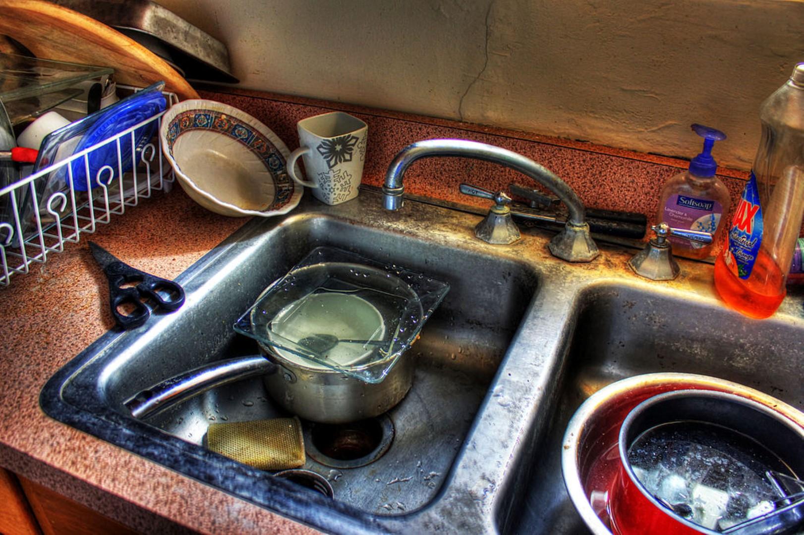 Een rommelige keuken doet je naar ongezonde snacks grijpen