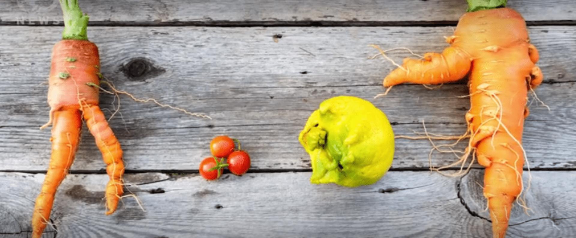 Video: waarom laten we 'lelijke' groenten en fruit links liggen?