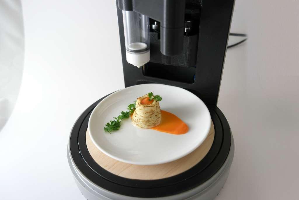 Staat deze voedselprinter over vijf jaar bij jou in de keuken?