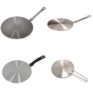 inductie adapterplaat – Kleine pan op grote plaat?