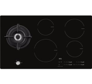 inductiekookplaat met wokbrander