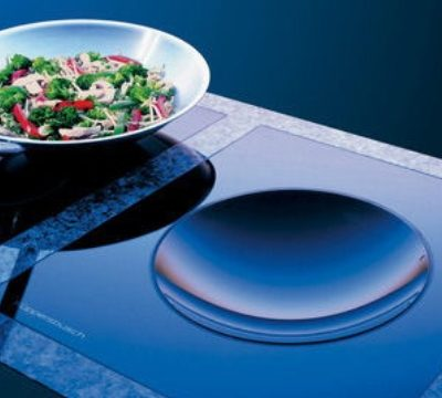 Instellen combinatie vermogen en temperatuur inductie kookplaat