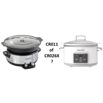 Crock Pot CR011 of CR26X – Slowcooker vergelijking