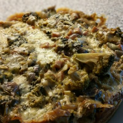 Quiche in slow cooker – Recept