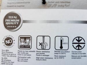 Soeplepel Tefal Ingenio eigenschappen