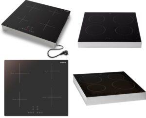Inductie kookplaat vrijstaand 4 pits - Modellen vergeleken