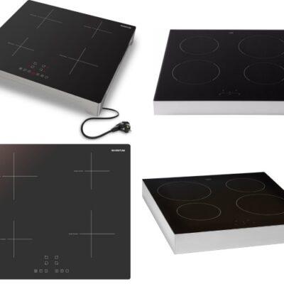 Inductie kookplaat vrijstaand 4 pits – Modellen vergeleken