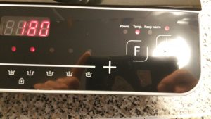Caso Inno Slide 2100 inductie kookplaat-bediening