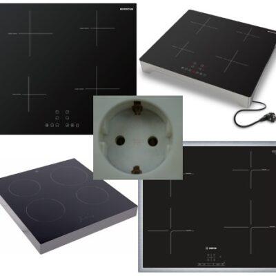 Pendelen inductie kookplaat: Power management functie