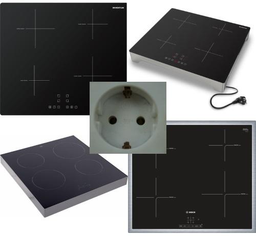 Inductie kookplaat 1 fase - Informatie en modellen