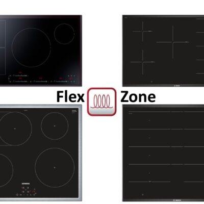 Inductie kookplaat Flex zone – Informatie en modellen