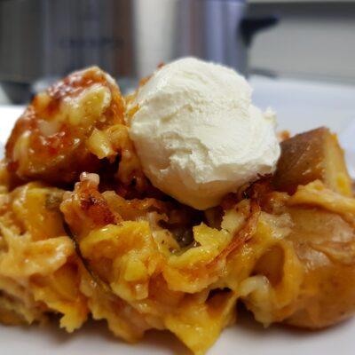 Slowcooker aardappelen met kaas en spek – Recept
