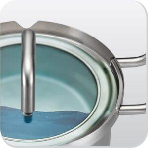 BK Q-Linair master pannenset 5 delig glazen deksel