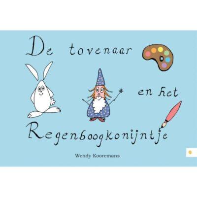 Kinderboek 'De tovenaar en het regenboogkonijntje'