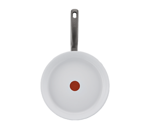 Tefal Ceramic Control White Induction
