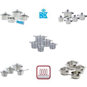 BK pannen inductie koken - Vergelijing van pannensets