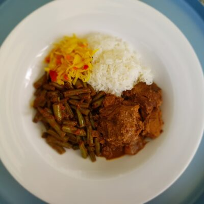 Rendang maken in de slowcooker