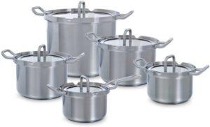 Pannenset voor Elektrisch Koken