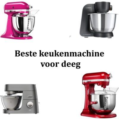 Beste keukenmachine voor deeg