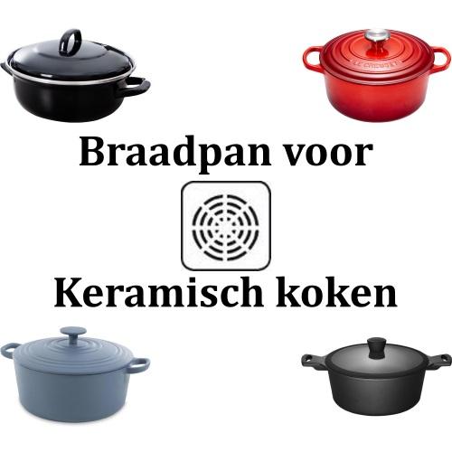 Braadpan voor keramisch koken