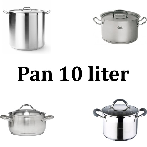 Pan 10 Liter