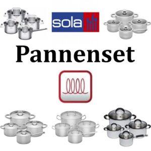 Pannenset inductie Sola