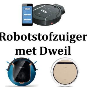 Robotstofzuiger met Dweilfunctie