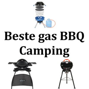 Beste gas BBQ Camping