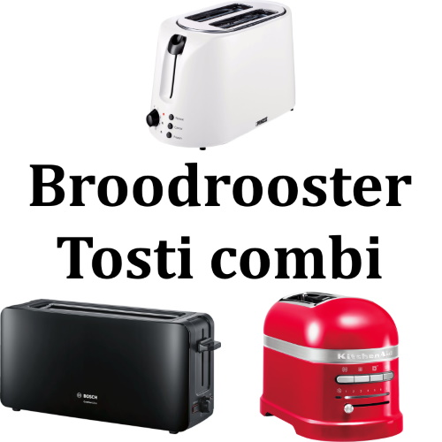 Broodrooster Tosti combi