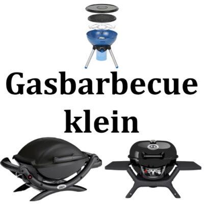 Gasbarbecue klein