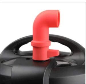 Stoom kap - Deflecteer - Stoompijpje op Crockpot multicooker
