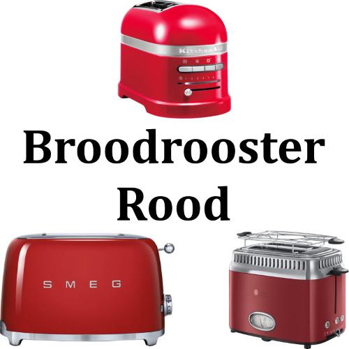 Broodrooster Rood - Modellen