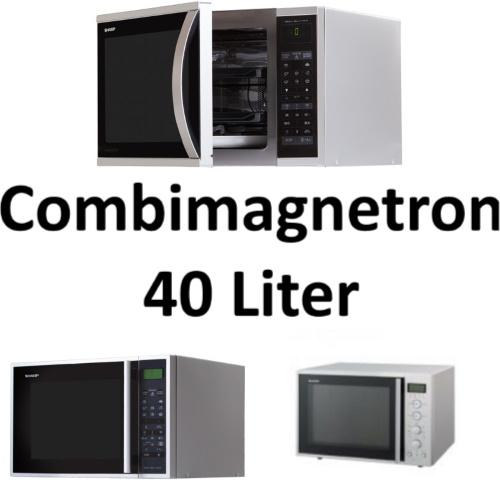 Combimagnetron 40 liter - Overzicht