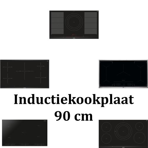 Inductiekookplaat 90 cm