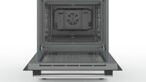 Oven van Bosch HLR390020 inductie fornuis